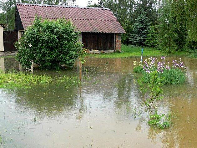 Polom u Bělotína na Hranicku - 2.6.2010
