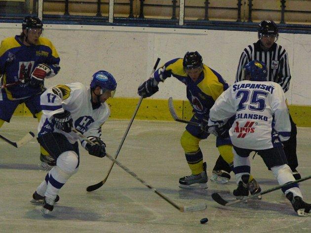 Přerovští hokejisté, hrající od nové sezony pod názvem HC ZUBR Přerov, zdolali v úvodním kole před svými příznivci Blansko 3:0.