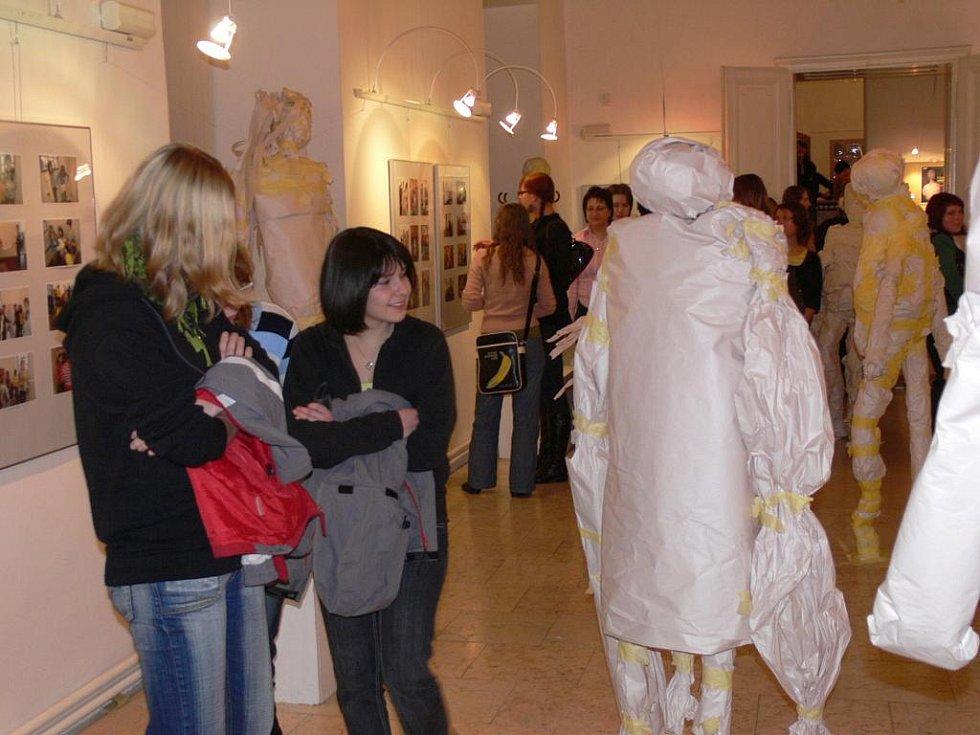 Vernisáž výstavy Hlad po umění