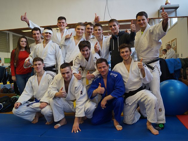 Zástupci Judo Železo Hranice na 1. kole Moravské ligy v judu
