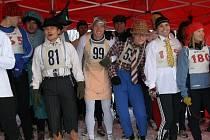 První ročník dvacetikilometrového běhu pod názvem Listoprďák pojali někteří spíše recesisticky.