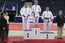 Na mistrovství České republiky mužů a žen v judu obsadila Renata Navrátilová třetí místo.