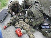 Cvičení na válečnou misi v Afgánistánu