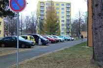 Parkování na Struhlovsku
