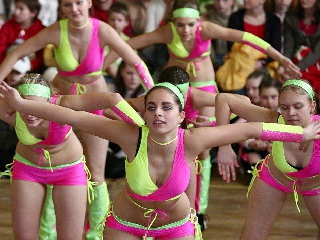 Taneční soutěž Lipenská hvězda.