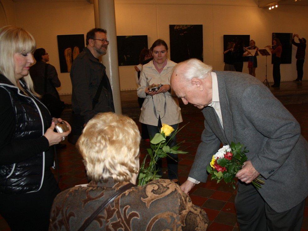 Vernisáž Miroslava Šnajdra staršího v hranické synagoze