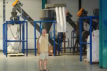 Firma Antaka se v hranickém CTPArku chystá ke spuštění recyklační linky na zpracování plastů.