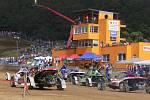 Přerovská rokle se o víkendu při devátém závodu ME v autocrossu zaplnila fanoušky z celého starého kontinentu.