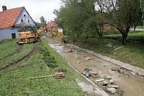 Černotín na Hranicku po tragických záplavách