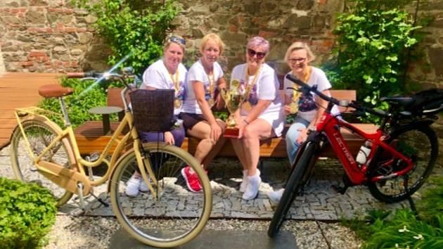 Do Projektu Do práce na kole se zapojily i ženy z Hranic.