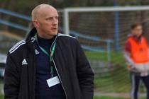 Trenér Rostislav Sobek.