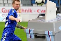Fotbalistu Petra Vavříka z Hranic zpráva o kandidatuře do parlamentu zaskočila