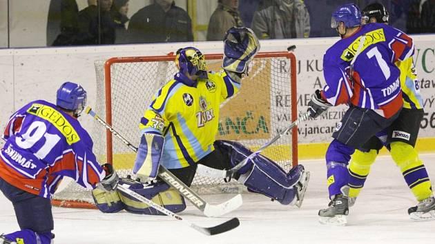Vítězství úvodního zápasu druhého kola play-off patřilo přerovským Zubrům.