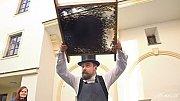 Prvorepubliková kafírna v muzeu ve Staré radnici v Hranicích
