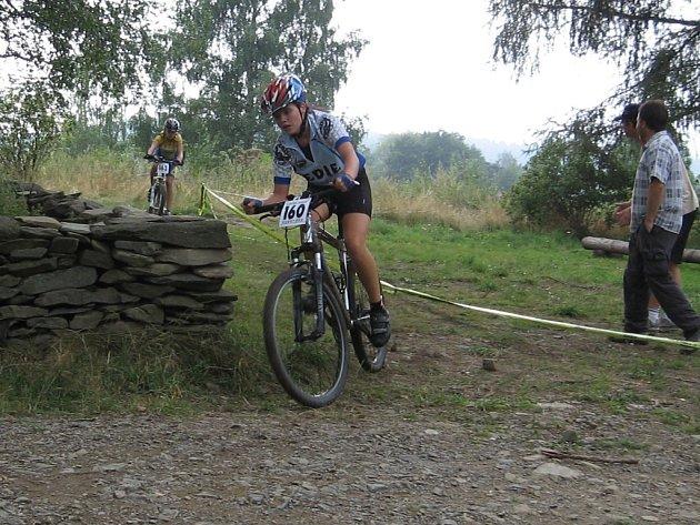 Přerovská bikerka vybojovala bronz.