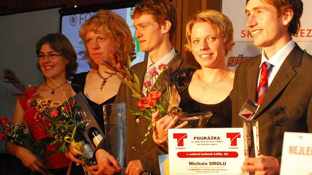 Pětice nejlepších orientačních běžců ČR za rok 2007 v dospělé kategorii.