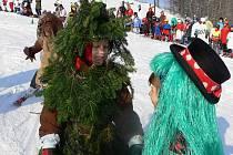 Maškarní rej lyžařské školičky na Potštátu