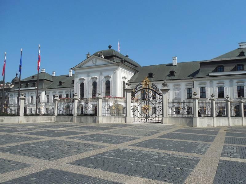 Prezidentské sídlo v Bratislavě.