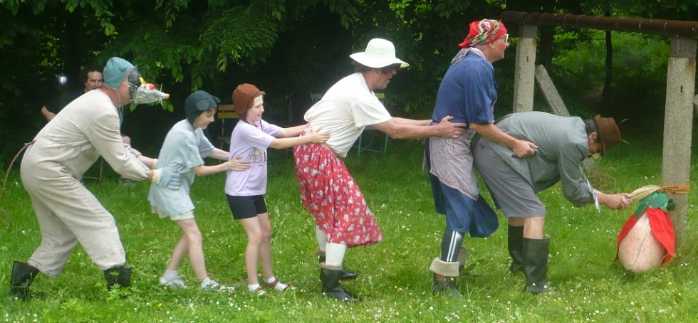 Kouzelné dostaveníčko se uskutečnilo v sobotu 7. června ve Skaličce.