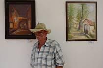 Výstava obrazů Jaroslava Jakubce je k vidění v Galerii severní křídlo zámku do konce prázdnin.