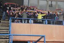 Na utkání v Litovli přijela fotbalisty Ústí podpořit i početná skupinka fanoušků