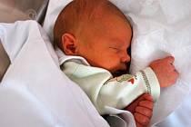Kryštůfek Dluhoš, Přerov, narozen dne 22. ledna 2013 v Přerově, míra: 48 cm, váha: 3 496 g