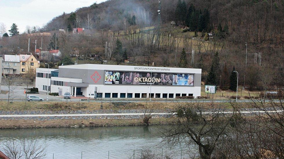 Sportovní centrum Naparia v Hranicích.