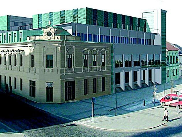 Tak by měla vypadat nová přerovská radnice.