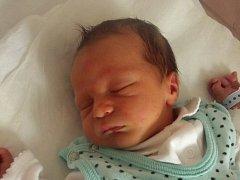 Tobiáš Vaněk, Přerov, narozen dne 10. srpna 2013 v Přerově, míra? 48 cm, váha: 2840 g