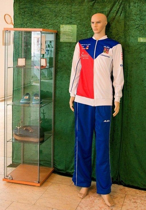 Výstava k výročí 110 let hranického tenisu.