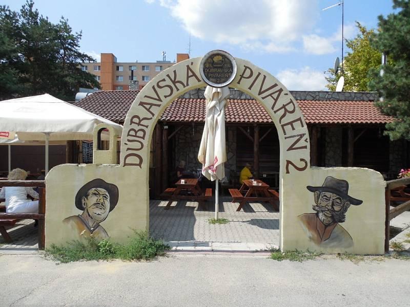 Piváreň v Bratislavě.