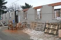 Stavba azylového domu ve Slavíči