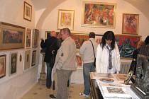 Výstava obrazů Karla Svolinského, Jana Baucha a Karla Tondla v hranické Galerii Gustava Matušky