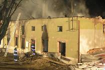 Začátkem letošního února zasahovali hasiči u požáru rodinného domu v Kokorách na Přerovsku.