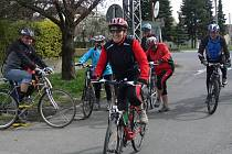 Členové hranického Klubu seniorů se vydali na cyklovyjížďku po regionu