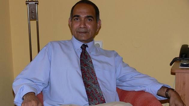 Indický lékař George Eassey působící v lázních v Teplicích nad Bečvou