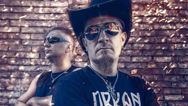 Projekt Robotized tvoří dva hraničtí hudebníci Patrik Daffy Nejedlý (na snímku vlevo) a Petr Staněk