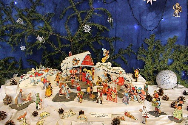 Výstava betlémů a vánočních tradic 2020vGalerii M+M vHranicích, 25.listopadu 2020