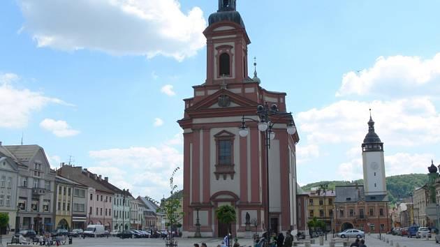 Masarykovo náměstí v Hranicích