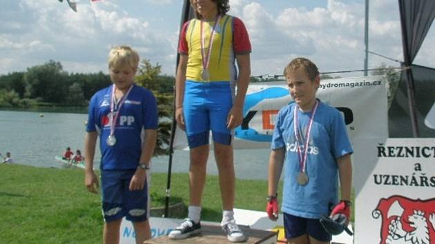 Marek Foukal (vpravo) vybojoval bronz.
