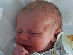 Michal Kocián, Tučín, narozen 8. prosince 2011 v Přerově, míra 51 cm, váha 3 470 g
