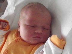 Aneta Libigrová, Veselíčko, narozena dne 16. ledna 2014 v Přerově, míra: 50 cm, váha: 3770 g