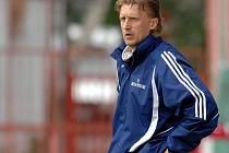 Oldřich Machala, nový trenér lipovských fotbalistů.