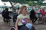 Nedělní charitativní odpoledne na Střelnici podpořilo šestiletou Kristýnku Březíkovou z Hranic