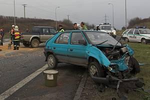 Osobní a nákladní automobil se srazily na křižovatce Horecko u Lipníku nad Bečvou.