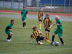 Áčko mladších žáků nezvládlo dobře rozehrané utkání a prohrálo 1:2.