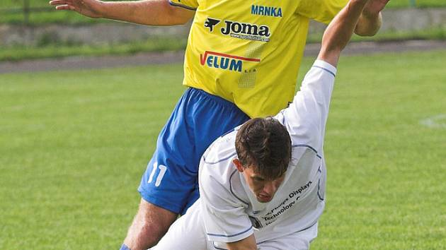 Fotbalisté SK stoupají tabulkou vzhůru, nyní je mladý hranický tým na čtvrtém místě Divize E.