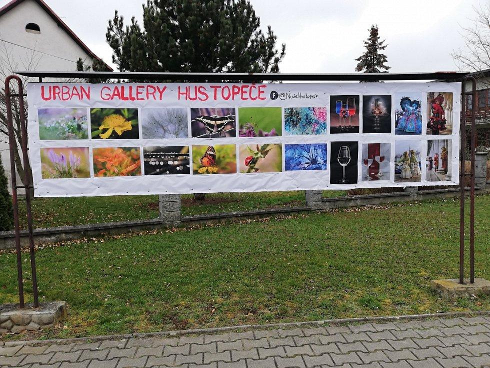 Urban Gallery v Hustopečích nad Bečvou.