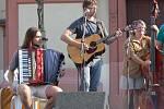 HKL: Koncert Kelt Grass bandu na hranickém náměstí