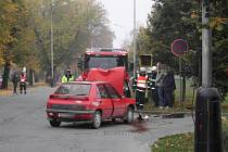 Škoda na obou vozidlech se odhaduje na 80 tisíc korun